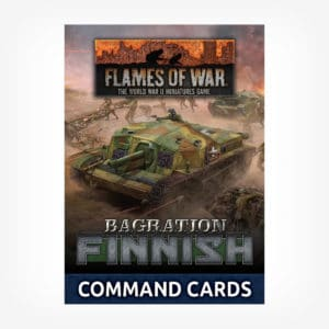 Bagration: Finnish Command Cards