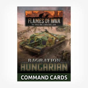 Bagration: Hungarian Command Cards