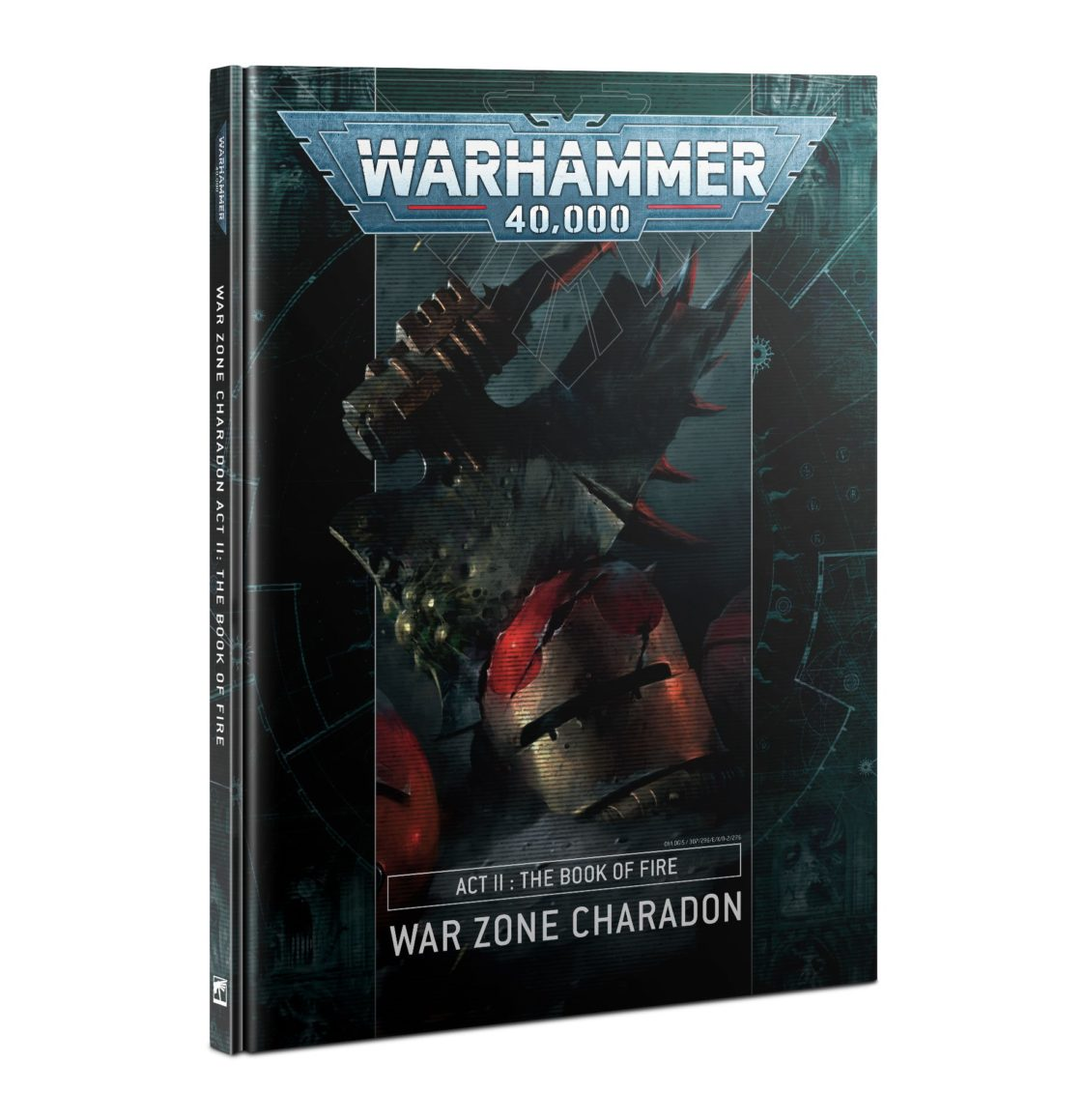 War Zone Charadon: Act II - Book of Fire (HB) (English)