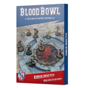 Blood Bowl: Shambling Undead Pitch & Dugouts