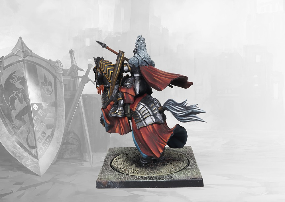 Hundred Kingdoms: Mounted Noble Lord
