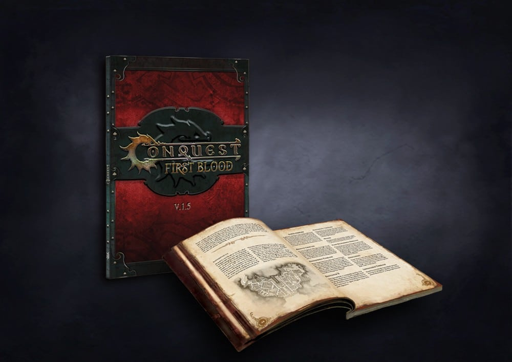 Conquest: First Blood Rulebook v1.5 (Softcover, English)