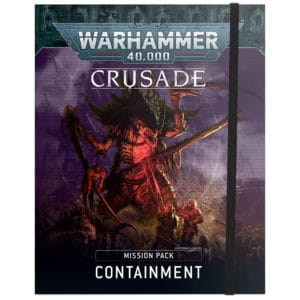 Crusade Mission Pack: Containment (English)